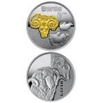 Монета Украина 5 гривен 2019 г. БАРАН СЕРЕБРО  МОНЕТА В КАПСУЛЕ!