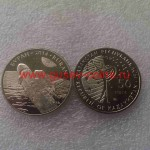 2014г. Монета Казахстан 50 тенге БУРАН КОСМОС никель
