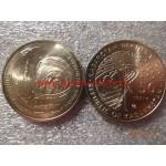 2011г. Монета Казахстан 50 тенге ПЕРВЫЙ КОСМОНАВТ ГАГАРИН никель КОСМОС
