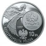 2007 г. Монета Польша 10 злотых ИСТОРИЯ ЗЛОТОГО 5 зл НИКА 1928 г