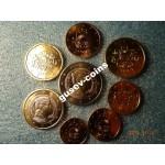 2014 Монета Латвия ГОДОВОЙ НАБОР ЕВРО В ФОЛДЕРЕ