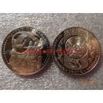 2012г. Монета Казахстан 50 тенге ОБРЯДЫ НАУРЫЗ никель
