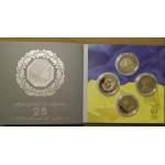 2016 Монета Украина 5 гривен 4 монеты 2016 год НАБОР КОМПЛЕКТ 25 лет НЕЗАВИСИМОСТИ УКРАИНЫ + Киевская Русь + Казацкое государство + Галицкое королевство