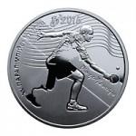 2017 Монета Украина 2 гривны параолимпийские игры Рио ле Жанейро