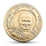 Монета Польша 2014 г. 2 злотых ИОАНН ПАВЕЛ 2-Й КОНОНИЗАЦИЯ