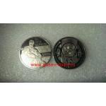 2014г. Монета Казахстан 50 тенге ТАРАС ШЕВЧЕНКО никель