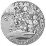 Монета БЕЛАРУСЬ 2007.12.20 | Алиса в  ЗАЗЕРКАЛЬЕ СКАЗКИ | 20 рублей | Ag 925 |