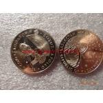 2009г. Монета Казахстан 50 тенге СОЮЗ-АПОЛЛОН никель КОСМОС