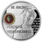 2008 г. Монета Польша 10 злотых 90 лет ВЕЛИКОПОЛЬСКОЕ ВОССТАНИЕ