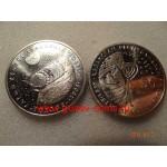 2008г. Монета Казахстан 50 тенге КОСМИЧЕСКИЙ КОРАБЛЬ ВОСТОК НИКЕЛЬ КОСМОС